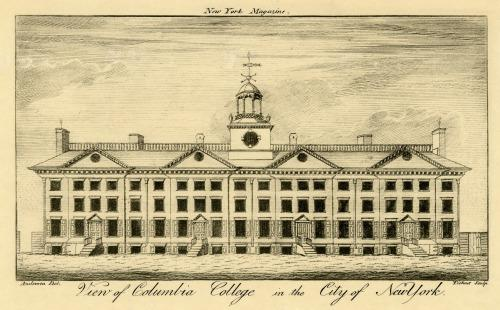 View of Columbia College, 1790